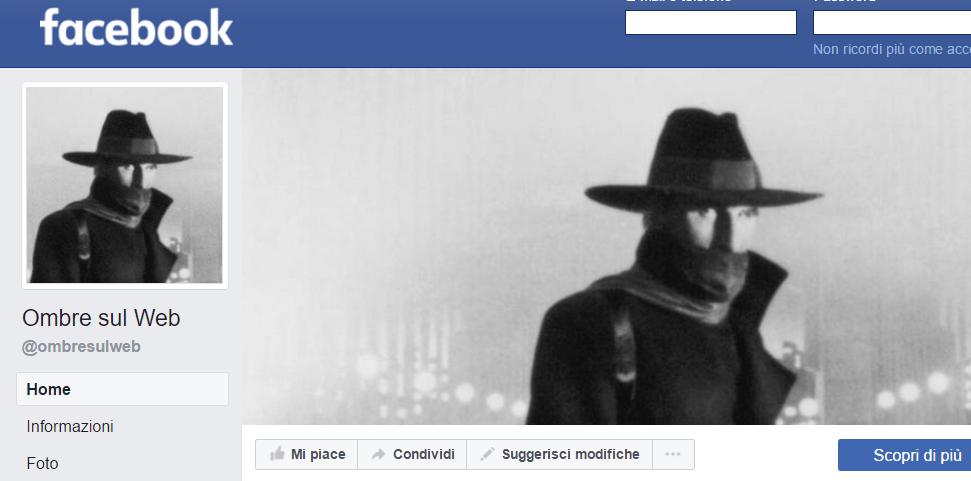 Nuova pagina Facebook e restyling completo delsito