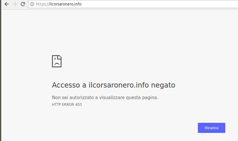 corsaronero_http_error_403
